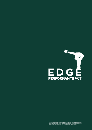 Edge Performance VCT Plc annual report 2012