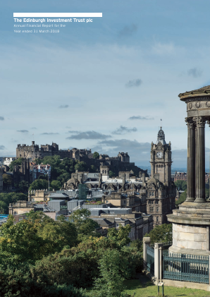 Edinburgh Investment Trust annual report 2018