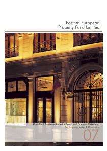 Eastern European Property Fund annual report 2007