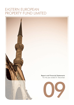 Eastern European Property Fund annual report 2009