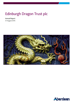 Edinburgh Dragon Trust annual report 2015