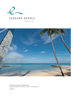 Elegant Hotels Group Plc annual report 2017