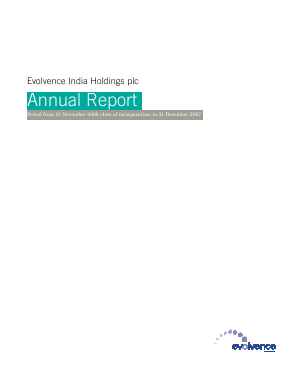 Eih Plc annual report 2007