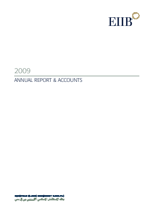 Rasmala (formally European Islamic Investment Bank) annual report 2009