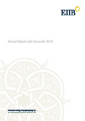 Rasmala (formally European Islamic Investment Bank) annual report 2010