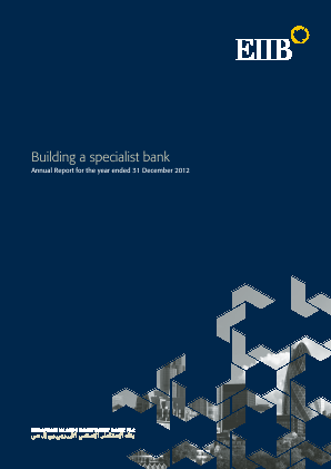 Rasmala (formally European Islamic Investment Bank) annual report 2012