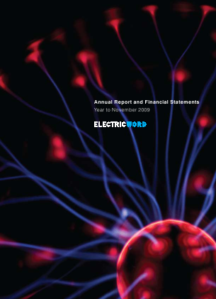 Electric Word annual report 2009