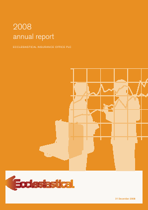Ecclesiastical Insurance Office annual report 2008