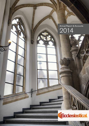 Ecclesiastical Insurance Office annual report 2014