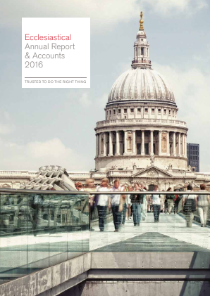 Ecclesiastical Insurance Office annual report 2016