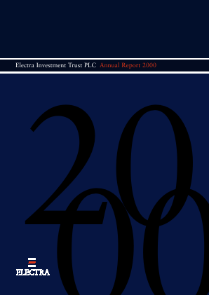 Electra Private Equity annual report 2000