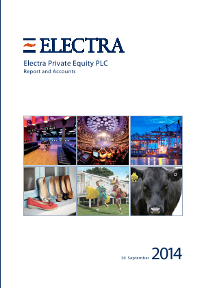 Electra Private Equity annual report 2014