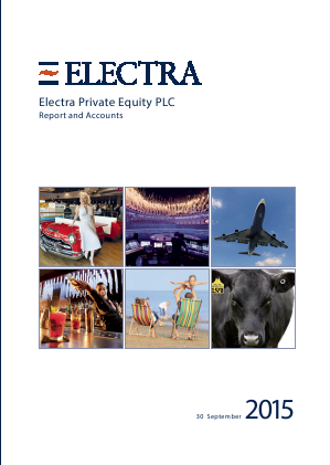 Electra Private Equity annual report 2015