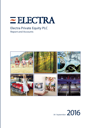Electra Private Equity annual report 2016