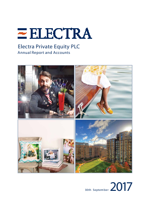 Electra Private Equity annual report 2017