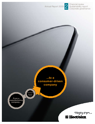 Electrolux annual report 2009