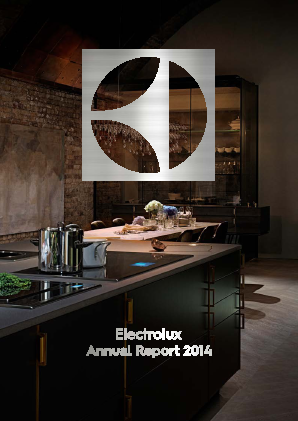Electrolux annual report 2014