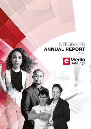 E Media Holdings annual report 2016
