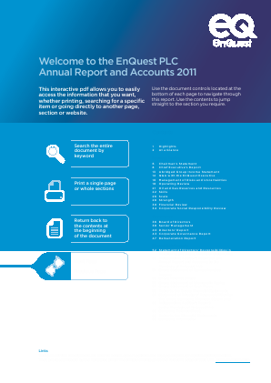 Enquest Plc annual report 2011