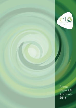 Environmental Recycling Technologies annual report 2014