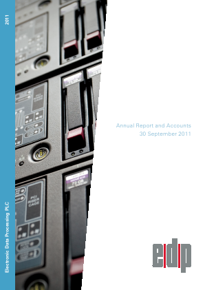Electronic Data Processing Plc annual report 2011