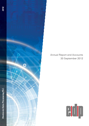 Electronic Data Processing Plc annual report 2012