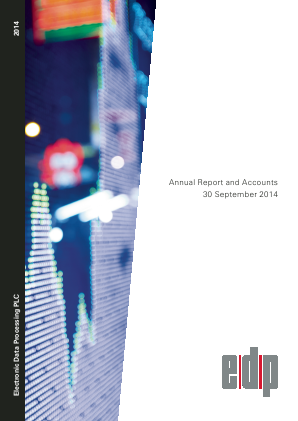 Electronic Data Processing Plc annual report 2014