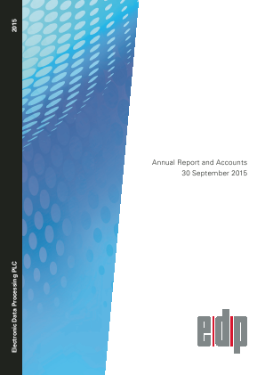 Electronic Data Processing Plc annual report 2015