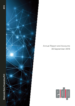 Electronic Data Processing Plc annual report 2016