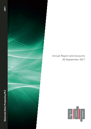 Electronic Data Processing Plc annual report 2017