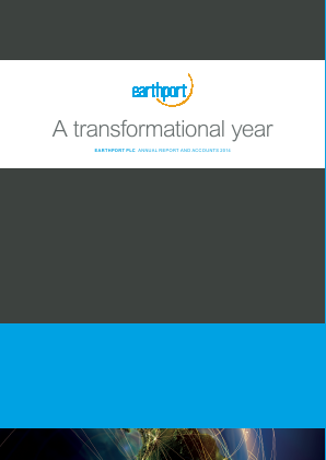 Earthport Plc annual report 2014