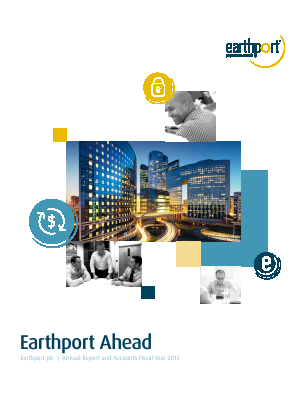 Earthport Plc annual report 2015