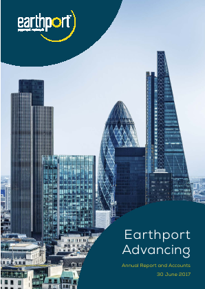 Earthport Plc annual report 2017