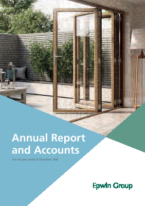 Epwin Group Plc annual report 2018