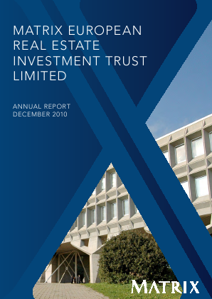 European Real Estate Investment Trust annual report 2010