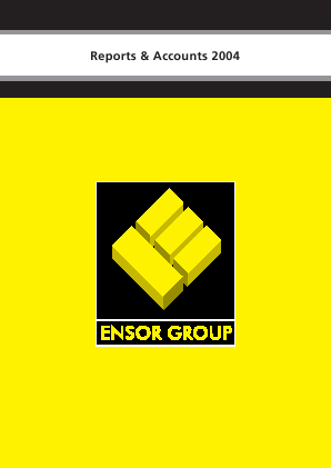 Ensor Holdings annual report 2004