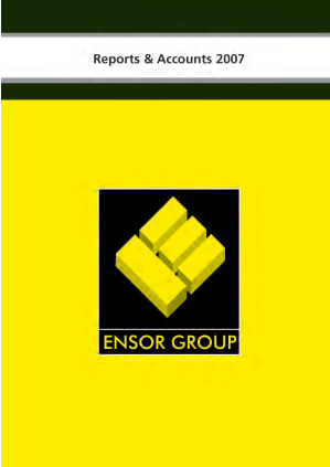 Ensor Holdings annual report 2007