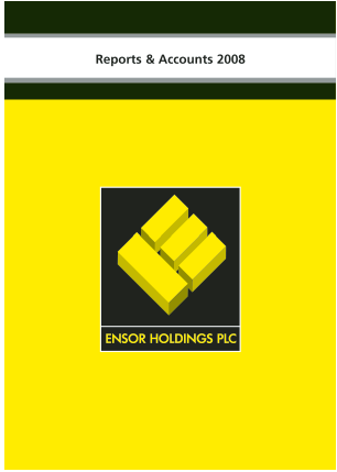 Ensor Holdings annual report 2008