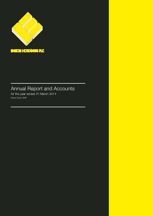 Ensor Holdings annual report 2014