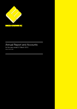 Ensor Holdings annual report 2015