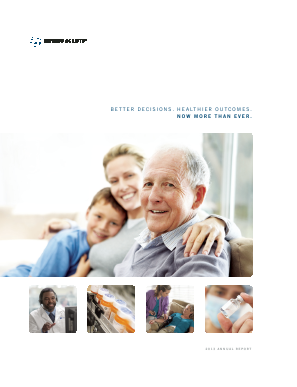 Express Scripts Holding annual report 2013