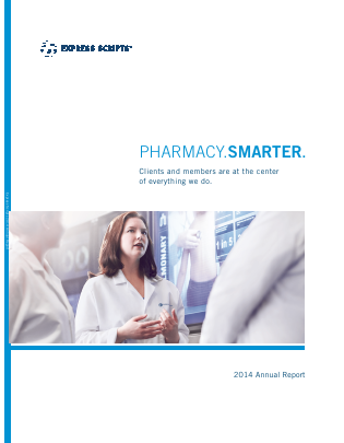 Express Scripts Holding Company annual report 2014