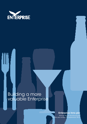 Ei Group (Formally Enterprise Inns) annual report 2015
