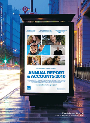 Entertainment One annual report 2010