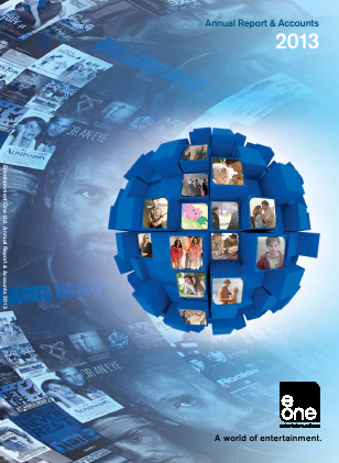 Entertainment One annual report 2013