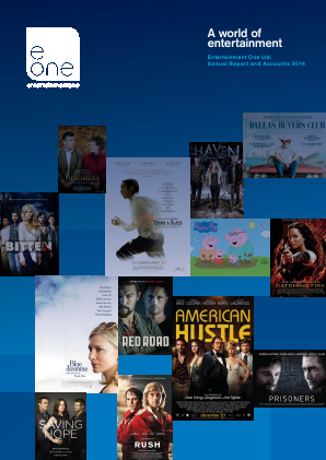 Entertainment One annual report 2014
