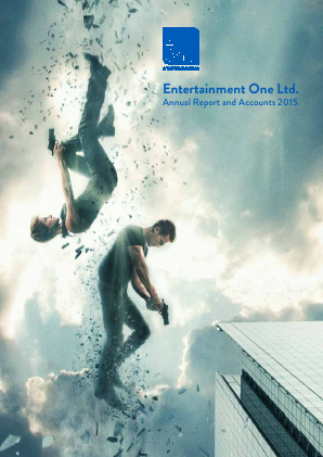 Entertainment One Ltd annual report 2015