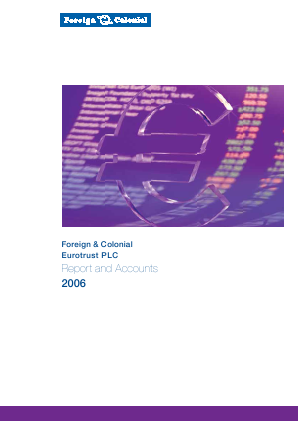 European Investment Trust Plc(The) annual report 2006