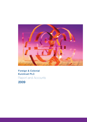 European Investment Trust Plc(The) annual report 2009