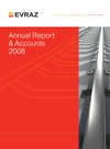 Evraz Plc annual report 2008